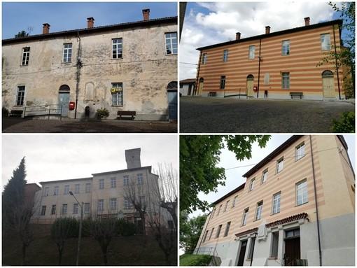 Rocca Cigliè: il centro servizi prima e dopo la riqualificazione