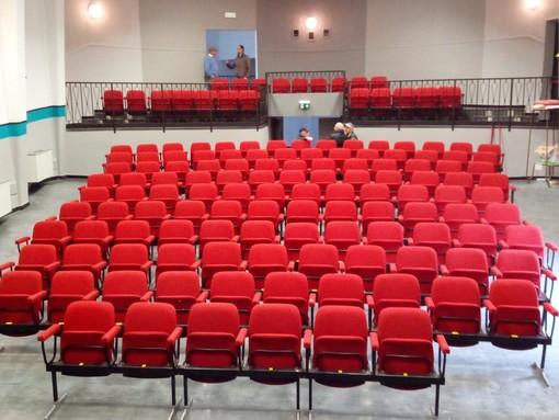 I locali rinnovati del cinema-teatro di Ceresole d'Alba