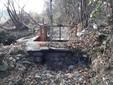 Il canale Bealera Nuova senz'acqua in zona via Candela
