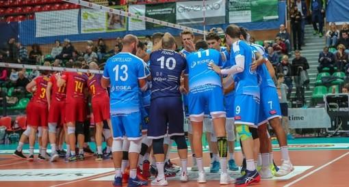 """Volley maschile A3 - Cuneo cede dopo un buon primo set contro Prata, Serniotti: """"Non siamo stati bravi ad adattarci..."""""""