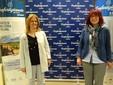 Da destra: Pamela Raffo (delegata Movimento Giovani Imprenditori) e Alessio Giordanengo (vice)