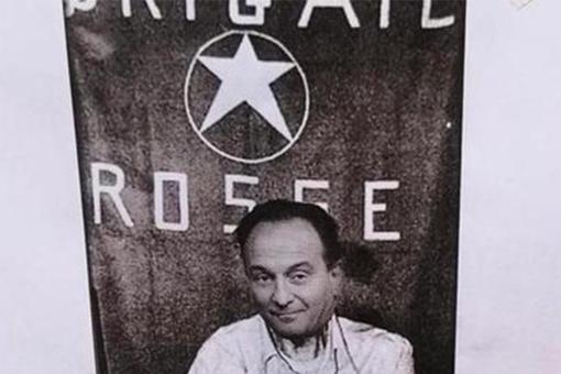 """""""Cirio come Moro"""", il fotomontaggio compare nei pressi del noto centro sociale di Torino"""