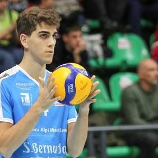 Volley maschile A2: Cuneo, confermato il giovane schiacciatore Luca Chiapello