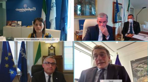 Artigianato, piccole imprese ed Europa: Confartigianato a confronto con il Presidente del Parlamento Ue Sassoli