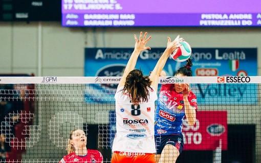 Volley femminile A1: la nuova classifica, Cuneo resta a quota 15