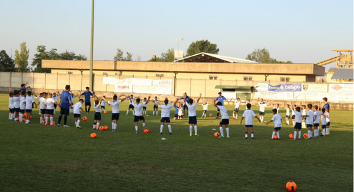 Calcio giovanile: ultimi giorni per iscriversi al camp estivo del Caraglio