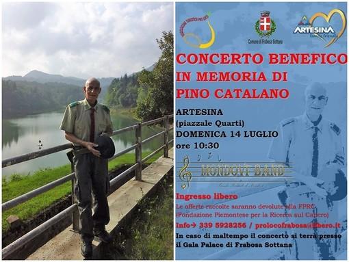 """""""Una vita dedicata ad Artesina"""": domenica 14 luglio il concerto benefico in memoria di Pino Catalano"""