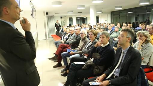 Grande partecipazione alla conferenza di Banca di Caraglio sulla crisi d'azienda e i nuovi obblighi dell'imprenditore (VIDEO)