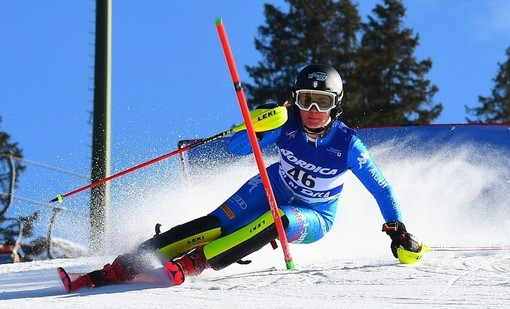 Sci alpino femminile: Carlotta Saracco quinta a metà gara del gigante femminile FIS di Solda