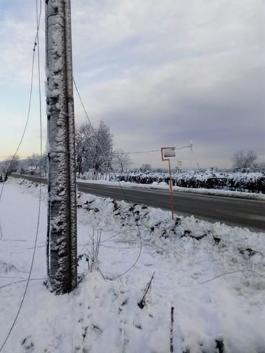 Dopo la nevicata, ancora casi di black-out in tutta la Granda