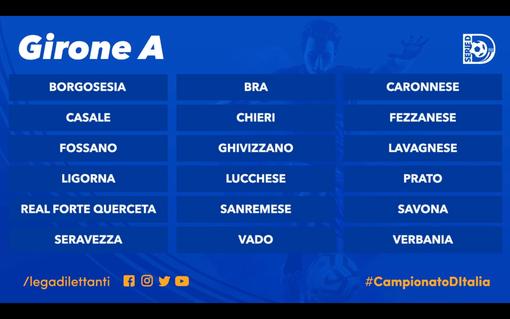 Calcio, Serie D: ufficializzato il girone A, sarà un mix con Liguria, Lombardia e Toscana