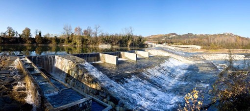 La centrale idroelettrica di Santa Vittoria d'Alba