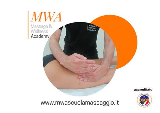 Arriva a Torino MWA - MASSAGE & WELLNESS ACADEMY