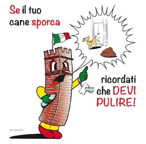 """""""Se il tuo cane sporca, ricordati che devi pulire!"""" A Mondovì è partita la campagna per il decoro urbano"""