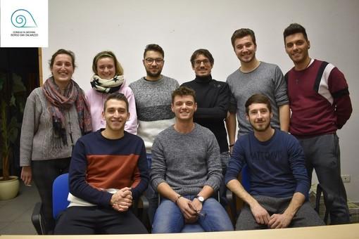 Alcuni membri della Consulta Giovanile comunale di Borgo San Dalmazzo