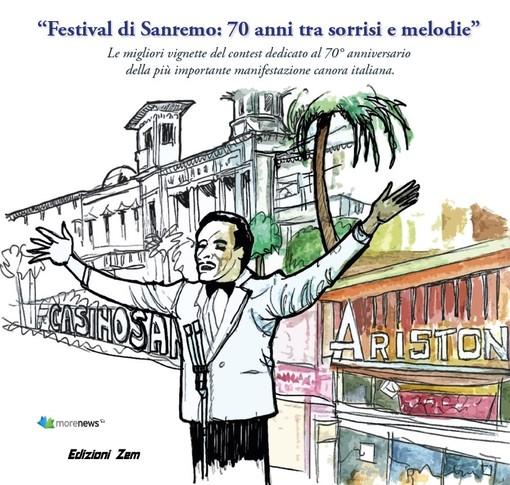 Sanremo: il cuneese Danilo Paparelli terzo classificato nel contest umoristico dedicato al 70° anniversario del Festival di Sanremo