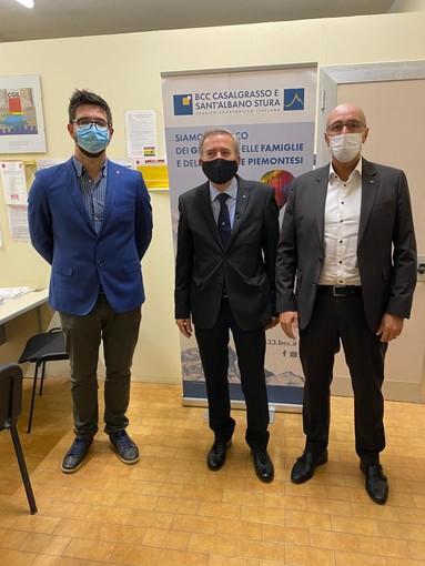 Inaugurato il nuovo ufficio di rappresentanza della BCC a Castagnole Piemonte