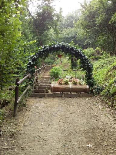 Nei boschi di Vezza d'Alba «un'oasi dell'anima» nata attorno a un'antica sorgente [FOTO]