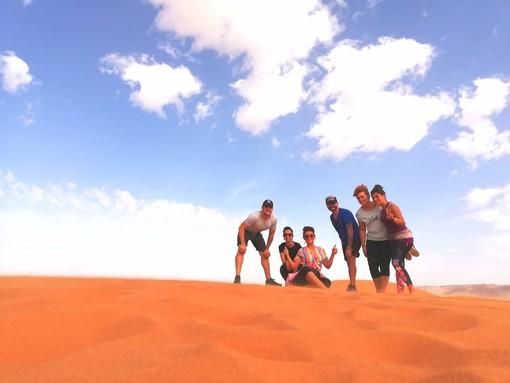 Anche nel deserto del Marocco si legge Targatocn... e voi?