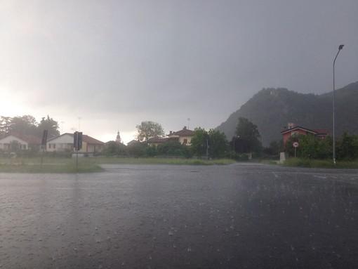 Forte temporale a Chiusa di Pesio (Foto e video)