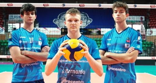 Volley maschile A2 - Cuneo conferma D'Amato, Vergnaghi e Rainero (VIDEO)