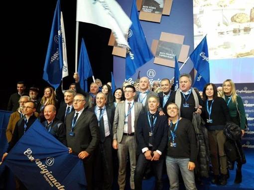 La delegazione cuneese