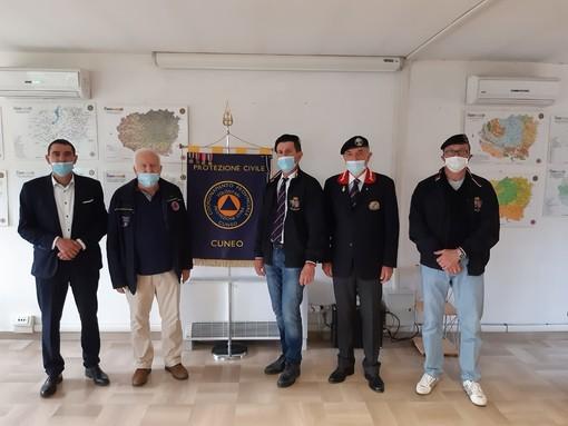 Donazione dell'Associazione Nazionale Granatieri di Sardegna per la sanificazione post Covid-19