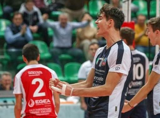 Volley maschile A2: Cuneo, Davide D'Amato sarà il secondo opposto