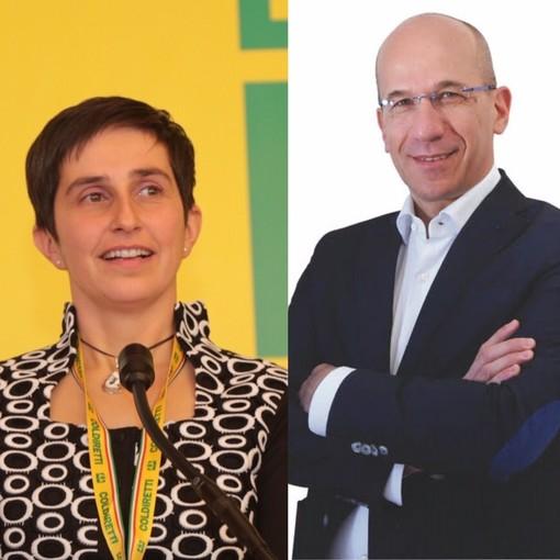 Da sinistra Delia Revelli e Valerio Oderda
