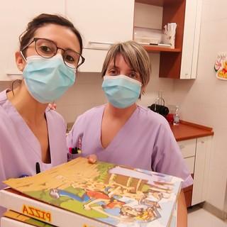 Pizze ogni domenica sera all'Hospice di Busca: i ringraziamenti del  personale infermieristico e Oss