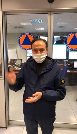 """Cirio: """"Le misure di contenimento sembrano iniziare a fare effetto, ma dobbiamo continuare a stare a casa"""" [VIDEO]"""
