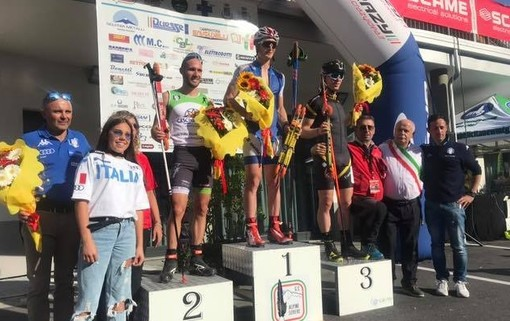Skiroll: trionfo di Daniele Serra nel Trofeo Penne Nere