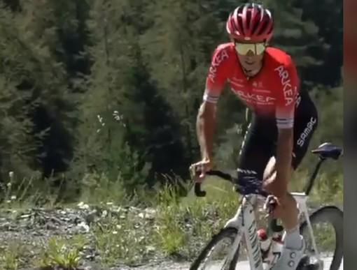 Ciclismo: è terminata l'avventura di Diego Rosa al Tour de France 2020