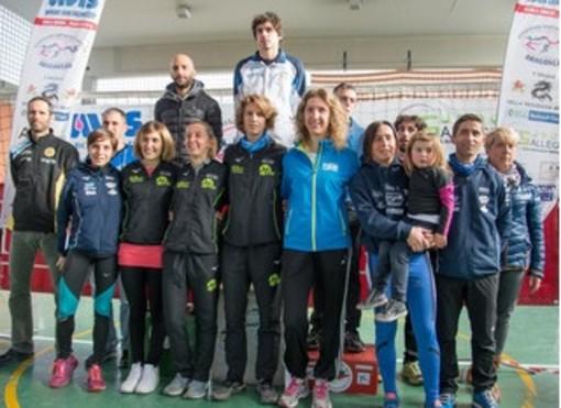 Il podio maschile e femminile dello scorso anno