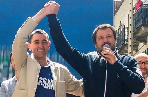 50 anni per il sindaco di Fossano Dario Tallone che risponde agli auguri di compleanno di Matteo Salvini