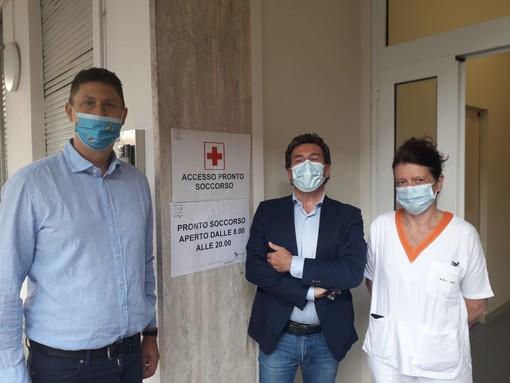"""Saluzzo, Paolo Demarchi: """"Stamattina riapre il pronto soccorso. Sforzo organizzativo che convive con punto vaccinale"""""""