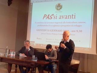Saluzzo,  Don Beppe Dalmasso al seminario PASsi avanti