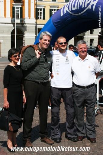 Con il sindaco di Cuneo Federico Borgna