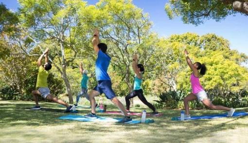 Atletica ed esercizi di corpo libero all'aperto: eccome ricominciano le lezioni di educazione fisica all'Arimondi Eula
