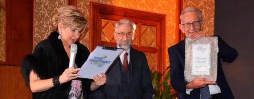Beppe Ghisolfi al Credit Job Day promosso dal Gruppo EMF che nel 2017 gli assegnò l'Oscar dell'industria creditizia