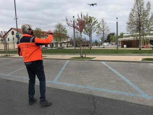 In volo con il drone su Cuneo per raccontare un'altra Pasqua di pandemia [VIDEO]