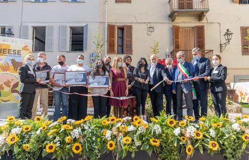 I momenti dell'inaugurazione - Foto di Gianni Milanesio