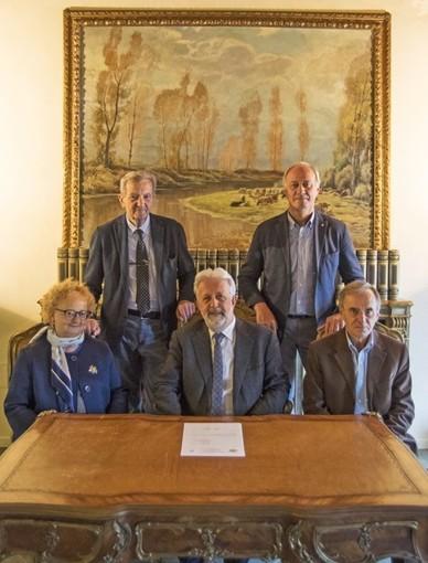 Foto istituzionale del Cda Fondazione CrSaluzzo