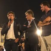 """Il filosofo Fusaro a Cuneo: """"L'infame tessera verde è una discriminazione a norma di legge"""""""