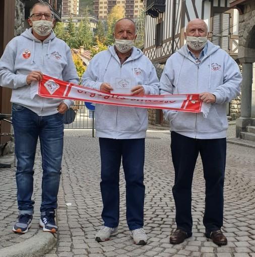 """Limone Piemonte: gesto di solidarietà dei """"Fedelissimi Cuneo 1905"""""""