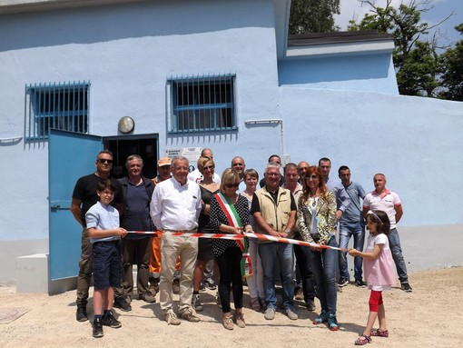 Inaugurazione della vasca della Pelata a Fabrosa Soprana