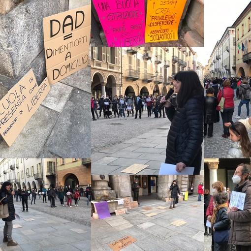 """Flash mob per la scuola a Cuneo, la rabbia di genitori e insegnanti: """"Non raccontateci bugie, sappiamo che non ci riaprirete più!"""""""