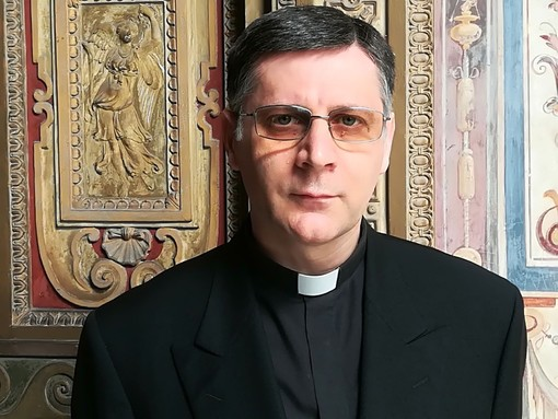 Monsignor Marco Mellino, originario di Canale
