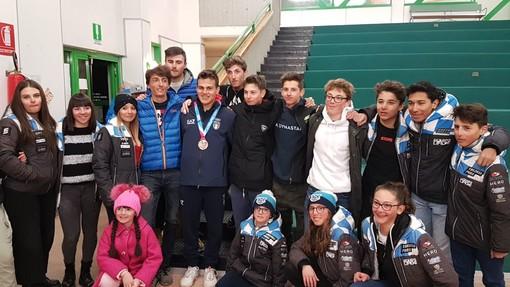 Festa a Limone Piemonte per Edoardo 'Dado' Saracco, medaglia di bronzo nello Slalom ai Giochi Olimpici Invernali della Gioventù (FOTO E VIDEO)