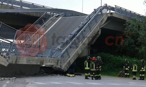 Il ponte crollato tre anni fa